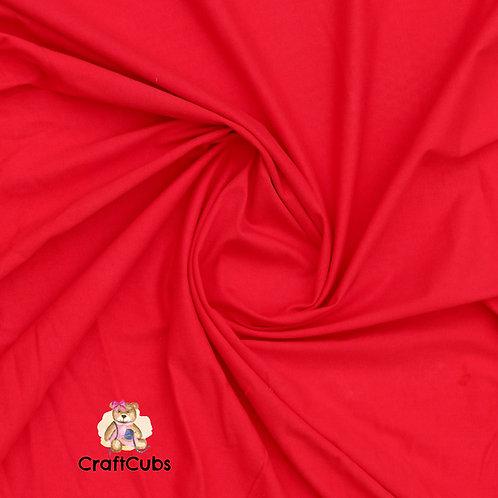 Crimson Cotton Lycra 210gsm
