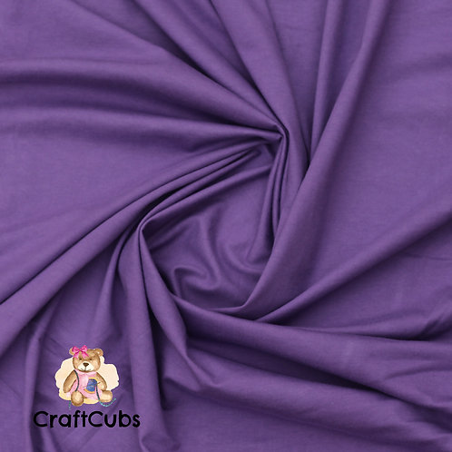 Grape Purple Cotton Lycra 210gsm