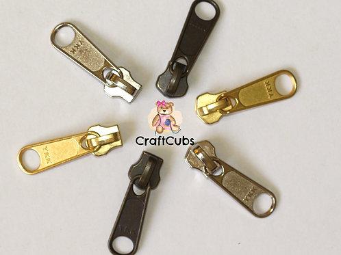 YKK  Size 5 Metal Zipper Pull