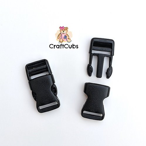 13mm (1/2 inch) Plastic Side Release Buckle