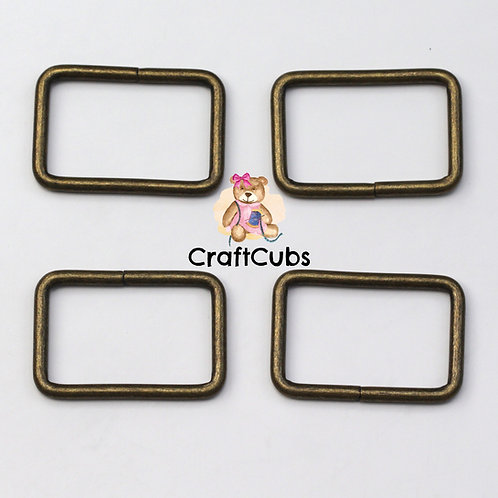 32mm (1.25 inch) Bag Buckle in Bronze