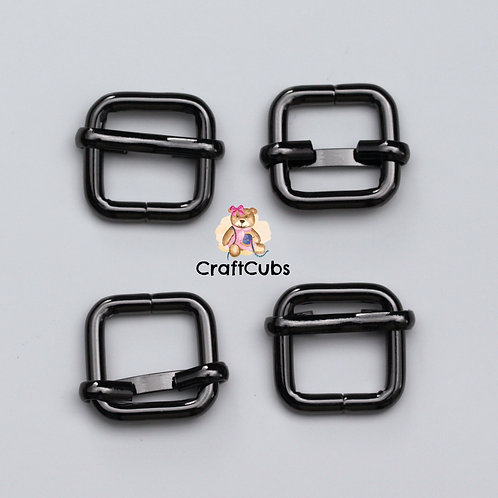 13mm (1/2inch) Adjustable Slider in Black