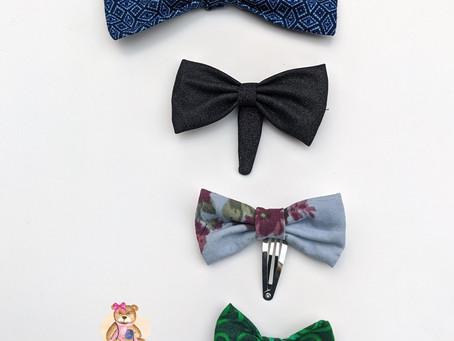 Easy Fabric Hair Bow Tutorial