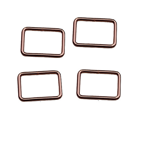 32mm (1.25 inch) Bag Buckle in Rose Gold