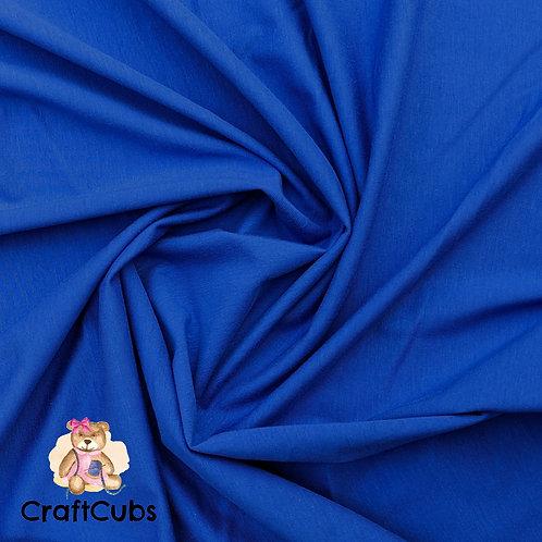Royal Blue Cotton Lycra 170gsm