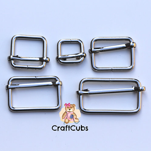 38mm (1.5 inch) Slider in Silver