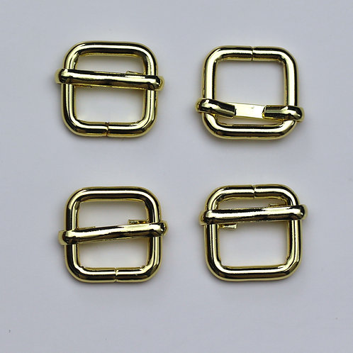 13mm (1/2inch) Adjustable Slider in Gold