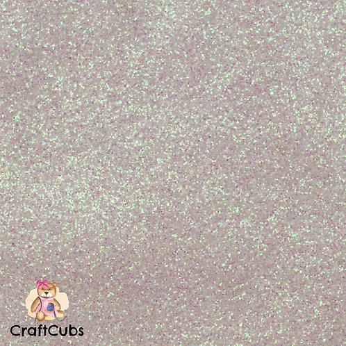 Glitter Vinyl in Pearl