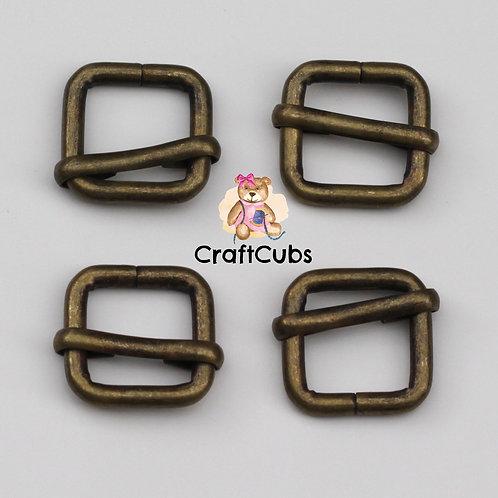 13mm (1/2inch) Adjustable Slider in Bronze