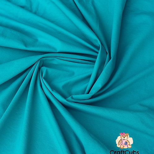 Turquoise Cotton Lycra 170gsm