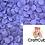 Thumbnail: T5 Kam Snaps in Heart Dusty Lavender (B28)