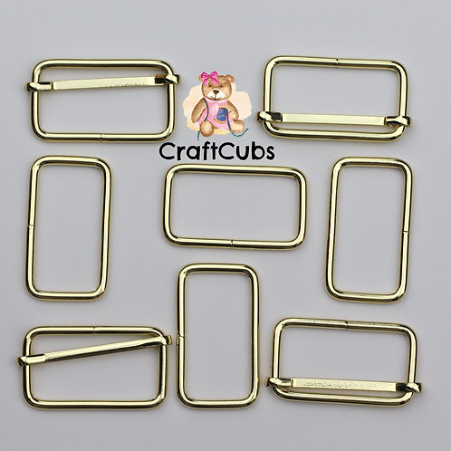 38mm (1.5 inch) Bag Buckle in Gold