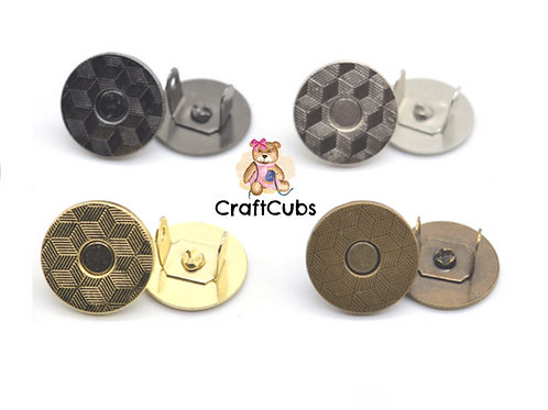 10mm (3/8 inch) Thin Magnetic Snap Button