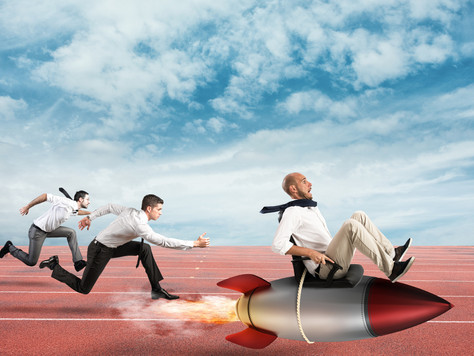 You Can't Win Running a Foot Race Against a Rocket