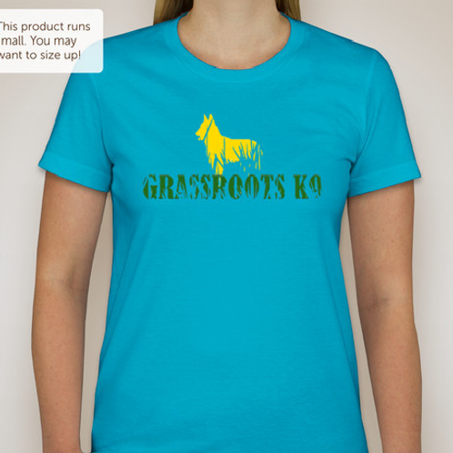 Grassroots K9 Ladies T- Shirt