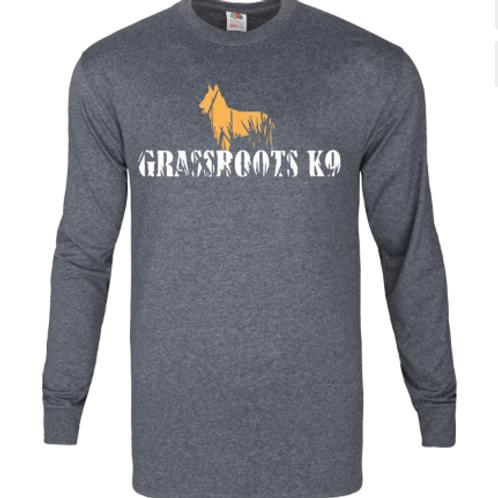 Long sleeve Grassroots K9 Logo