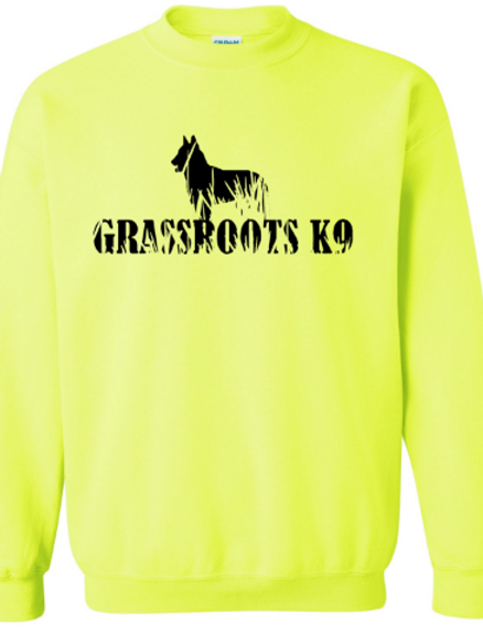 Neon Grassroots K9 Crewneck Sweat Shirt