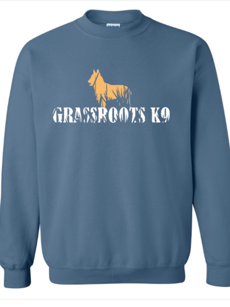 Crewneck throwback Grassroots K9 Logo Sweatshirt