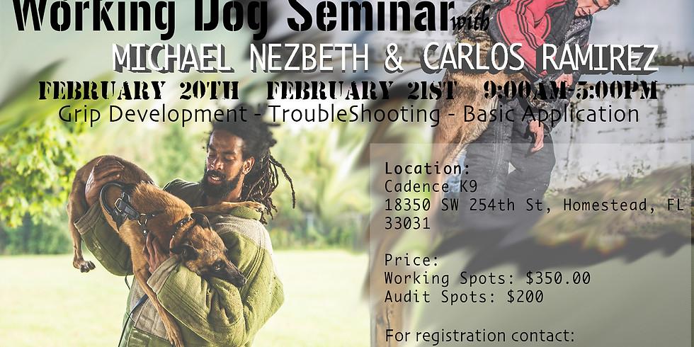 Working Dog Seminar