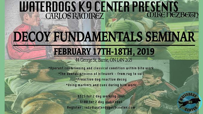 DECOY Fundamentals Seminar