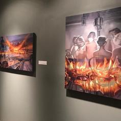 #onview #polkmuseumofart #hollyannscoggins  #oilpainting #painting #southerngothic #southerngothicart #hollyannscoggins #hollyscoggins #oilo