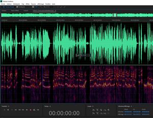 Adobe audition mixage d'un podcast The Office Unicorn