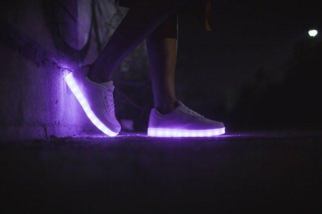 Visibilité Shiny Shoes