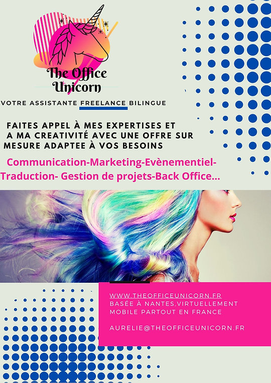 The Office Unicorn Assistante Freelance Bilingue catalogue de services