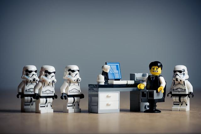 The Office Unicorn- Lego Star Wars