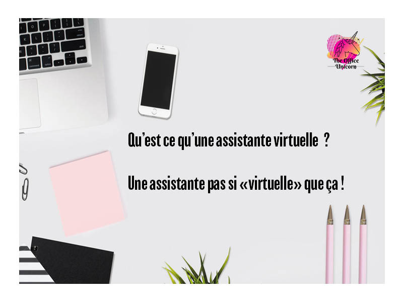 Définition d'une assitante virtuelle The Office Unicorn