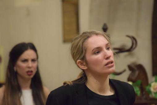 Orfeo - Anna Marie McLachlan Euridice - Lucy Elston