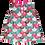 Thumbnail: Batik Fans Dress (Green/Pink)