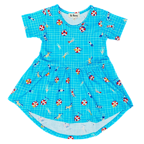 Fun in the Pool Swing Dress