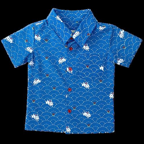 Blue Rabbit Shirt