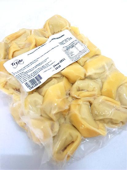 Agnolotti de pernil ao limão siciliano