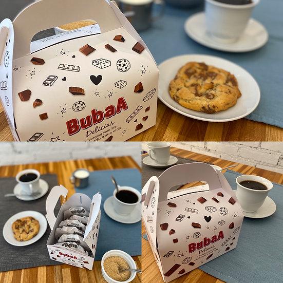 Cookies, Caixa de sete cookies