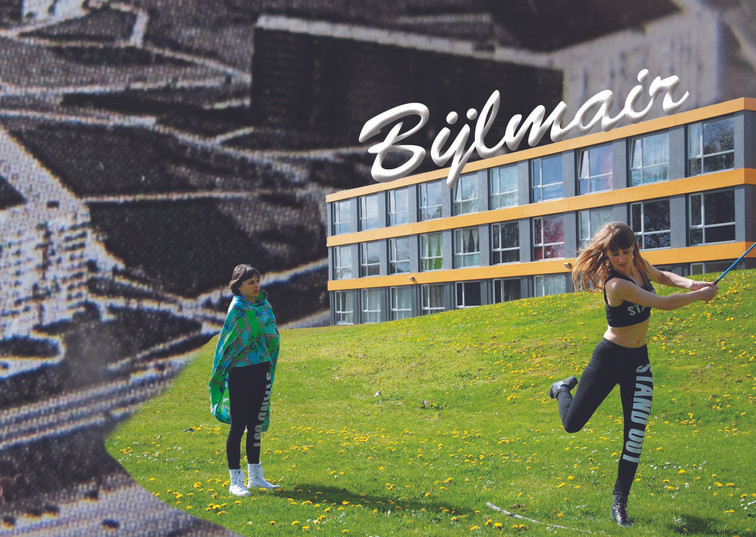 a postcard from Bijlmair