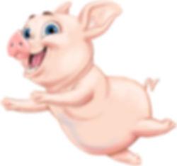 Piggy Pile-up Piggy Game Piece