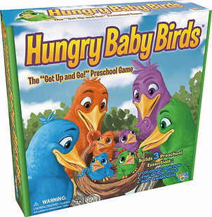 Hungry Baby Birds Game