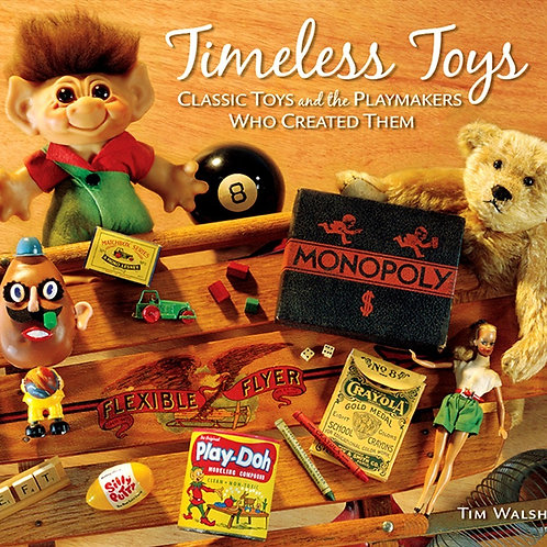 Autographed copy of Timeless Toys