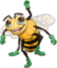 Balancing Bees game worker bee