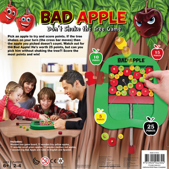 Bad Apple game box back