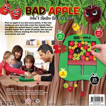 Bad Apple game box back