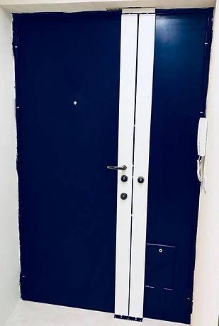 fr métal, porte, porte bindée