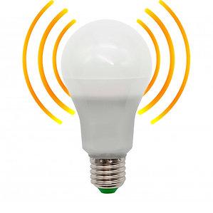 E27 8W Movement Sensor + Lux Sensor Lamp