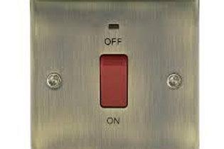 BG Nexus Switch 45A / Neon Red Switch Neon AB/Nexus