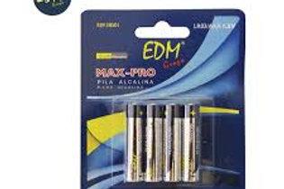EDM AAA Batteries Pack 4