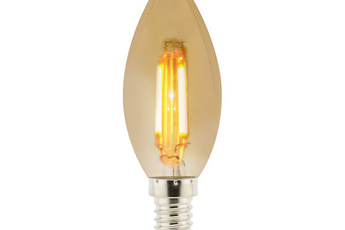 E14 4W Amber Tulip Lamp Ldme