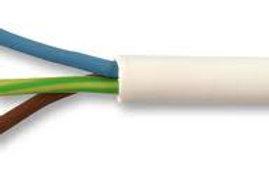 3183YH Cable 2.5mm 3 Core Flex white