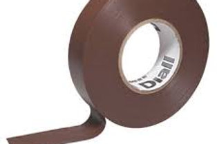 Brown Electrical Tape 19mm